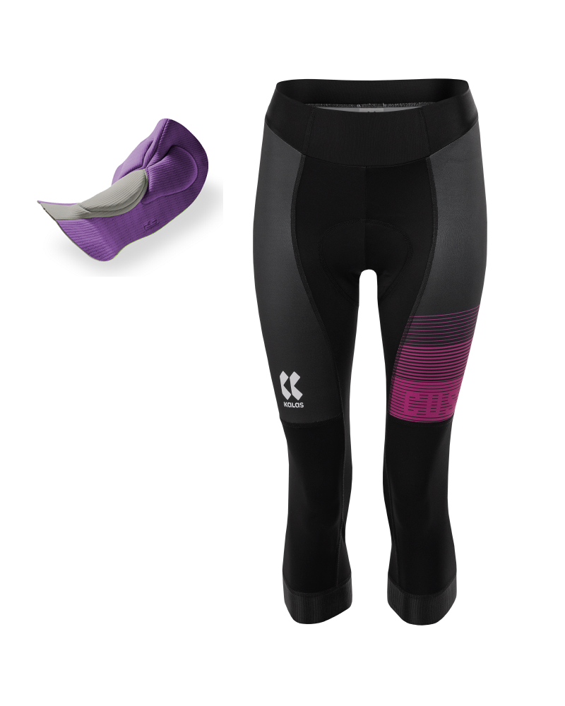 Sykkelknickers | ARCO-ELITE | Power Lycra | Endurance 3D Lady pad | DAME